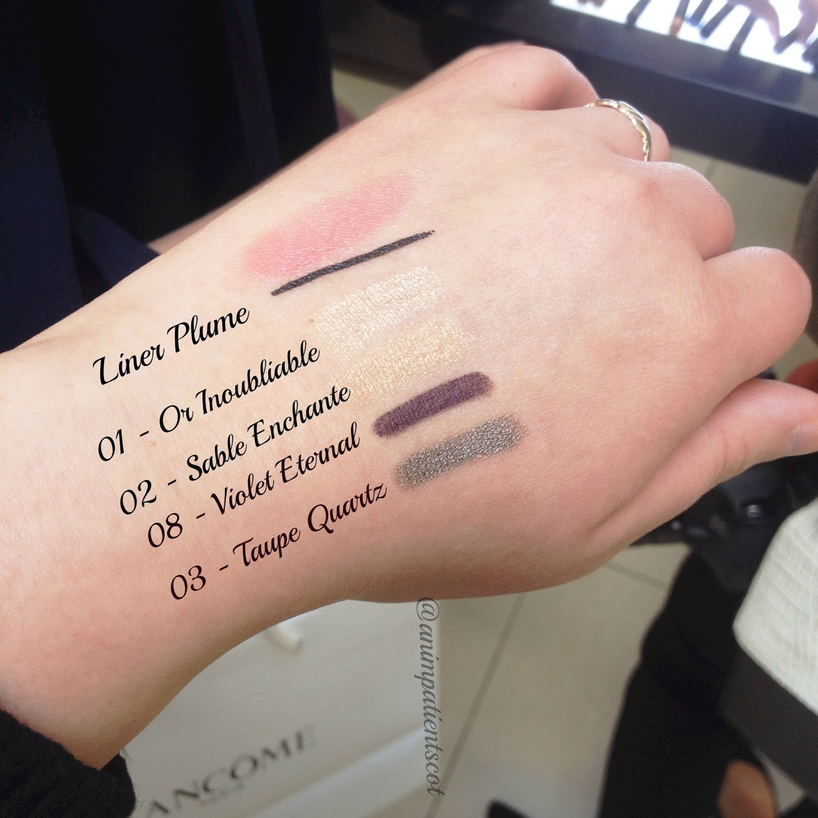 Lancome Ombre Hypnose Stylo swatches