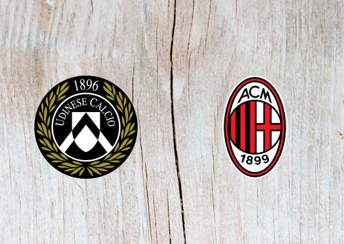 Udinese vs AC Milan - Highlights 04 November 2018
