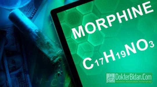 Morfin - Aturan Pemakaian Dosis Dan Efek Samping Sebagai Obat Pereda Rasa Sakit