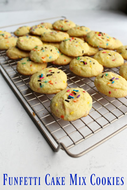 It only takes 3 or 4 of ingredients to make the soft and delicious cookies. Start with a cake mix and you'll have a sweet treat in just a matter of minutes!