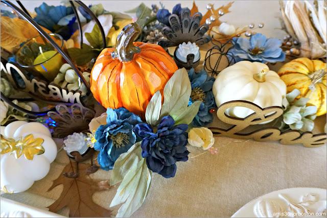 Decoraciones de mi Cena de Acción de Gracias