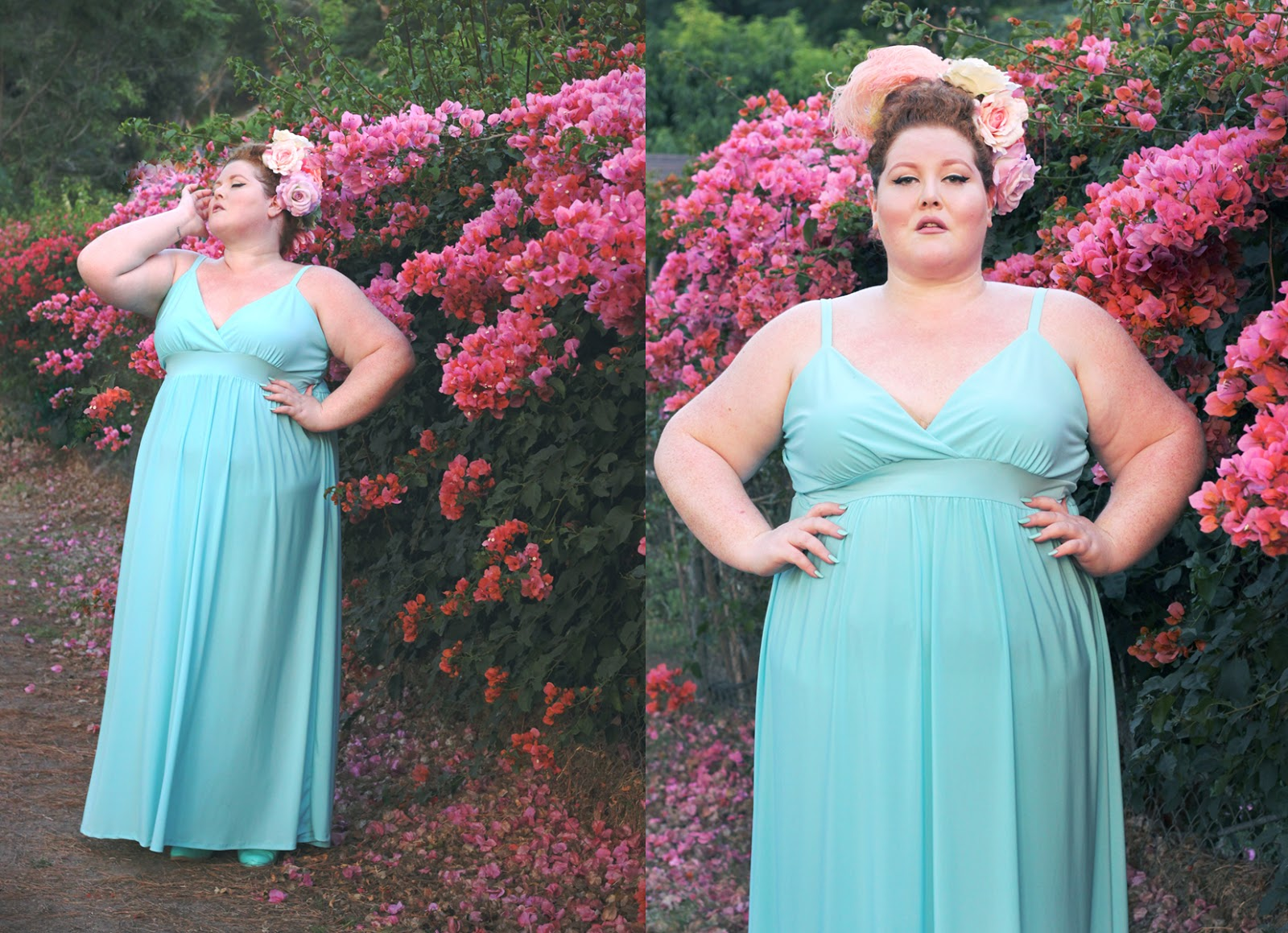 Style or Else : SWAK Sabrina Maxi in Light Blue