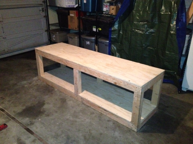 Middle Class Chops Boise New Motorcycle Work Bench