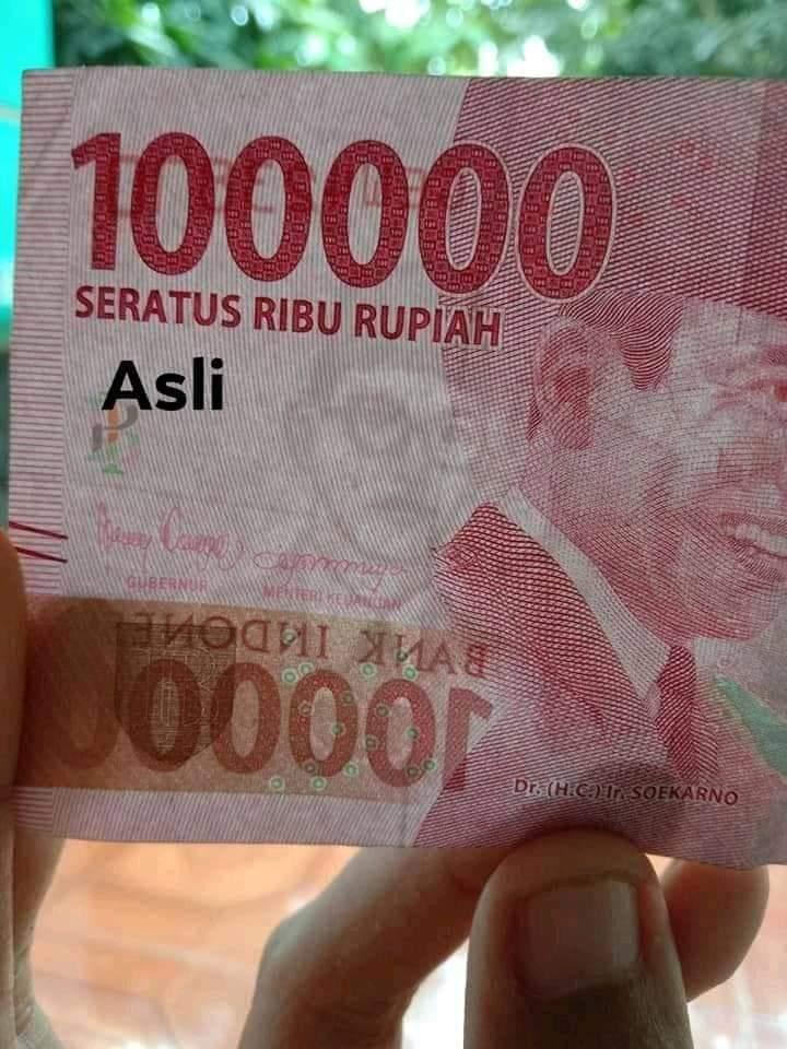 beda uang asli dan uang palsu