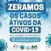 NOVO HORIZONTE-BA:  ZERAMOS  ( OS CASOS ATIVOS DA COVID-19 EM NOSSO MUNICÍPIO !))
