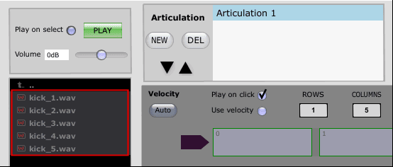 Select files in Slate Trigger 2 Instrument Editor