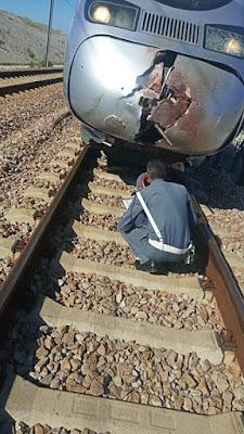 إنتحار شخص بإقتحام سكة البراق ضواحي طنجة (التفاصيل)