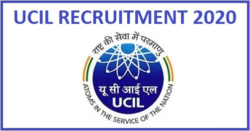 UCIL Mining Mate and Various Post Recruitment 2020