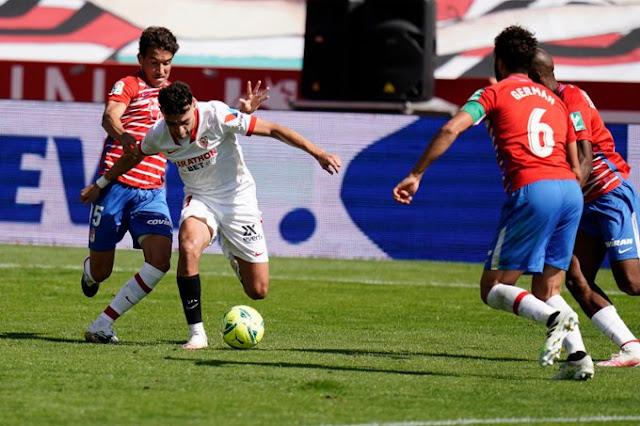 Crónica Granada CF 1 - Sevilla FC 0