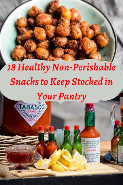 healthy non perishable snacks for work