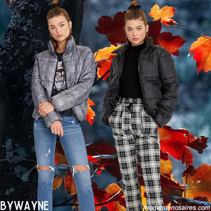 Pantalones a cuadros 2020. Moda invierno 2020 pantalones a cuadros.