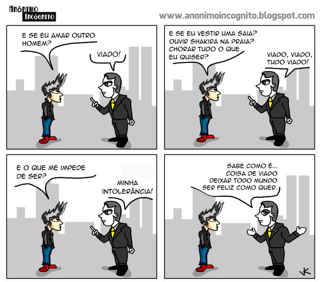 anonimo incognito: a lógica do ódio