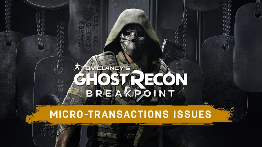 ghost recon breakpoint microtransactions grind ubisoft time savers booster and skill point removed