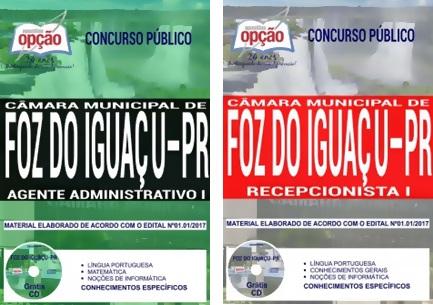 Apostila Câmara de Foz do Iguaçu 2018