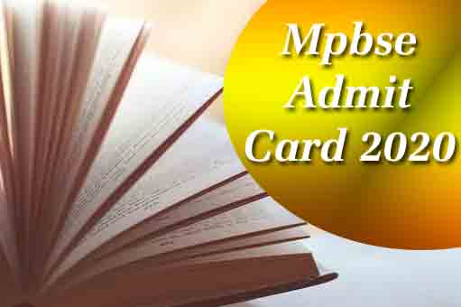 mp board admit card 2020,  mpbse mponline,  mp board 10th admit card 2020,  mp board admit card 2020 class 12,  mpbse.nic.in 2020,  mp board 12th admit card 2020,  mpbse admit card 2020,  mp board time table 2020,