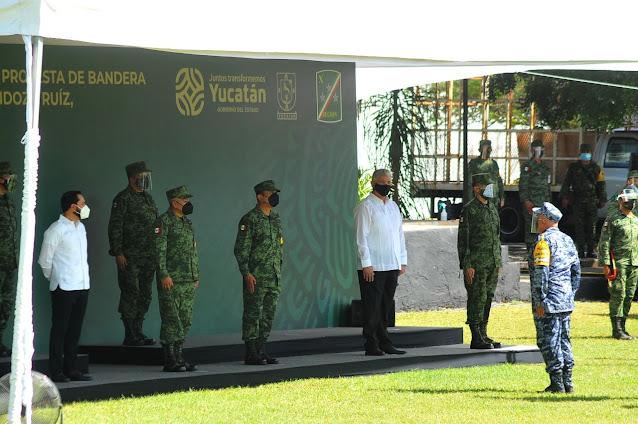 General de División Homero Mendoza Ruiz, nuevo comandante de la X Región Militar. Alejandro Ruvalcaba