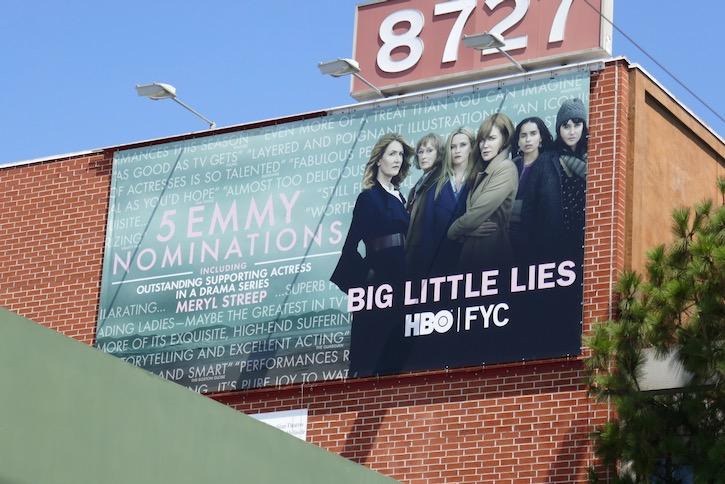Big Little Lies 2020 Emmy nominee billboard