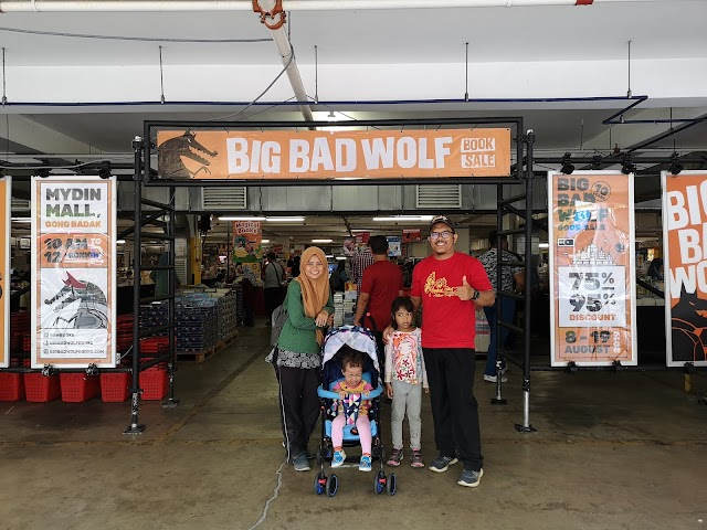 Big Bad Wolf Malaysia Gamatkan Terengganu dengan Diskaun 75% - 95%