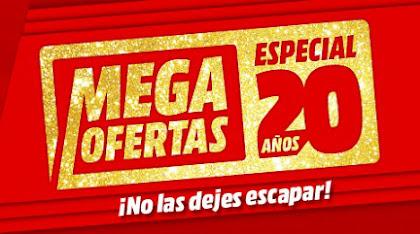 Mejores Mega Ofertas Especial 20 años Media Markt