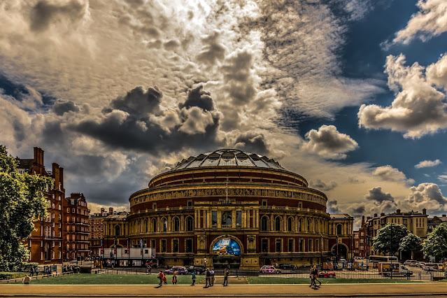 London is more known for the Royal Albert Hall