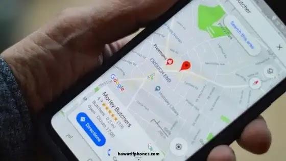 تحد  Google Maps من خياراتها إذا لم توافق على مشاركة بيانات موقعك الجغرافي