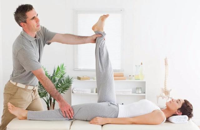 hamstrings stretching - lower back center LBC