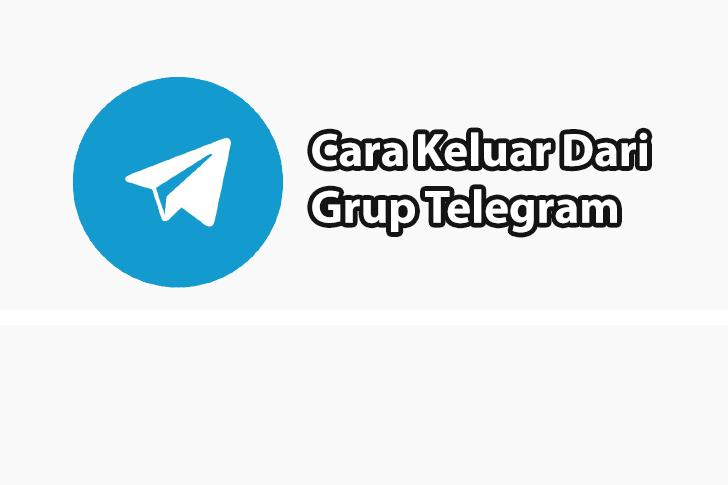 Cara Keluar Dari Grup Telegram Dengan Sangat Mudah