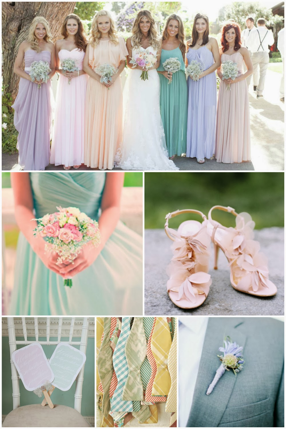 wedding ideas pastel colours memorable wedding using pastels in a wedding theme 28278