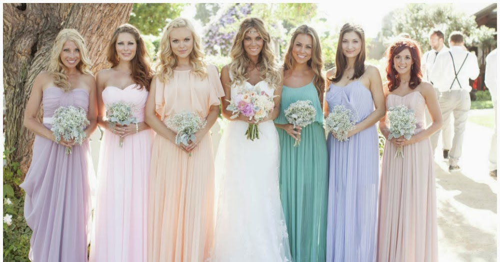 Memorable Wedding: Using Pastels In A Wedding Theme