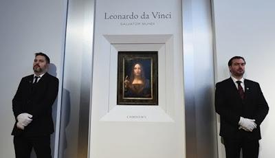 Pembeli Lukisan da Vinci Seharga 6 Triliun Terungkap