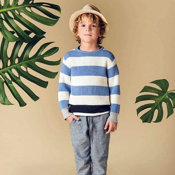 Ropa para niños primavera verano 2018. | Moda en ropa para niños y niñas 2018: Colección Pioppa primavera verano 2018.