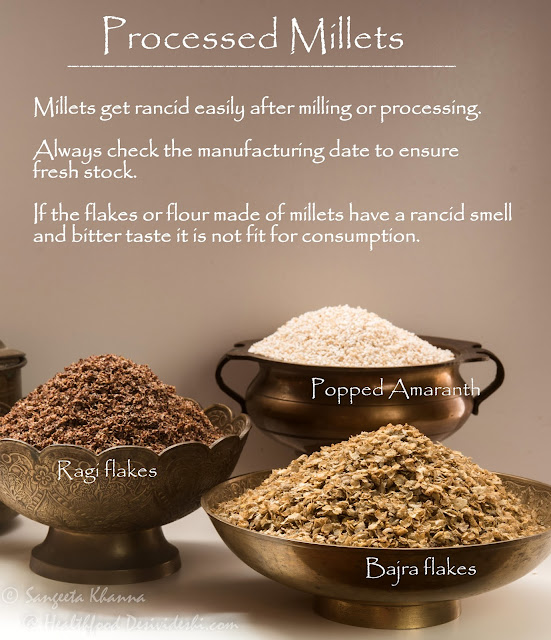 processed millets