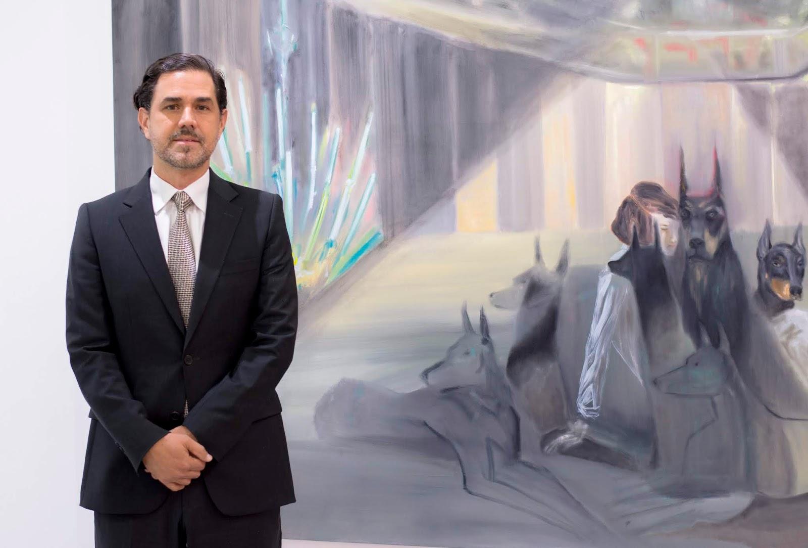 """El CEN presenta la muestra pictórica """"Los Niños de los Perros"""" del artista Roberto Noboa"""