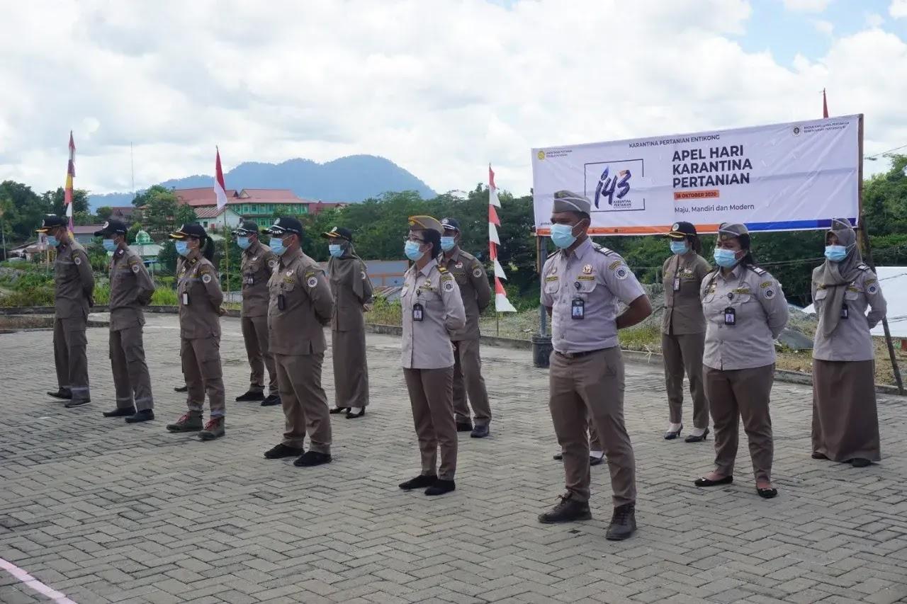 Memperingati Hari Karantina Pertanian ke 143 tahun di Entikong Sanggau Kalbar