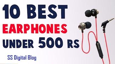 10 Best Earphones Under Rs 500 in India 2020
