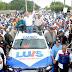 Candidato presidencial del PRM y aliados recorren calles de San Juan