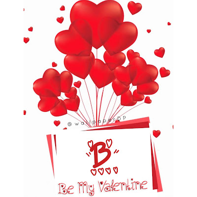 Be my valentine love alphabets Letter Dpz for Facebook and WhatsApp