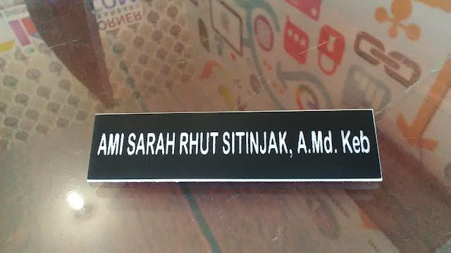 Name Tag Peniti