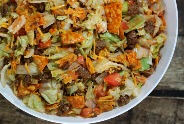 Weight Watchers Recipes Doritos Taco Salad 4 Smartpoints