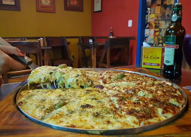 A melhor pizza de Guarapari - ES