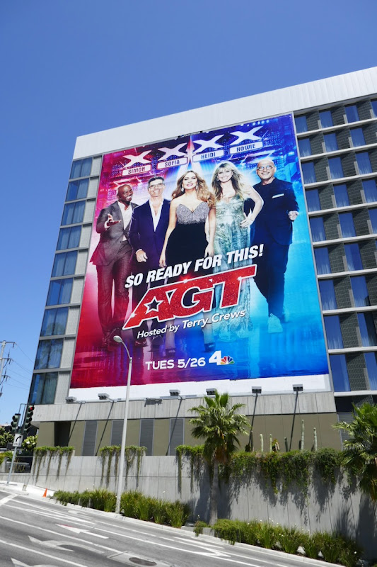 Giant AGT season 15 billboard