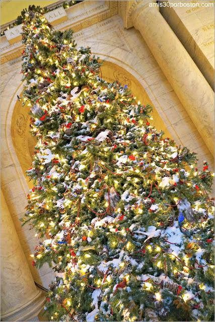 Árbol de Navidad de la Biblioteca Pública de Nueva York