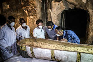 Ancient tomb and sarcophagi unveiled in Eygpt