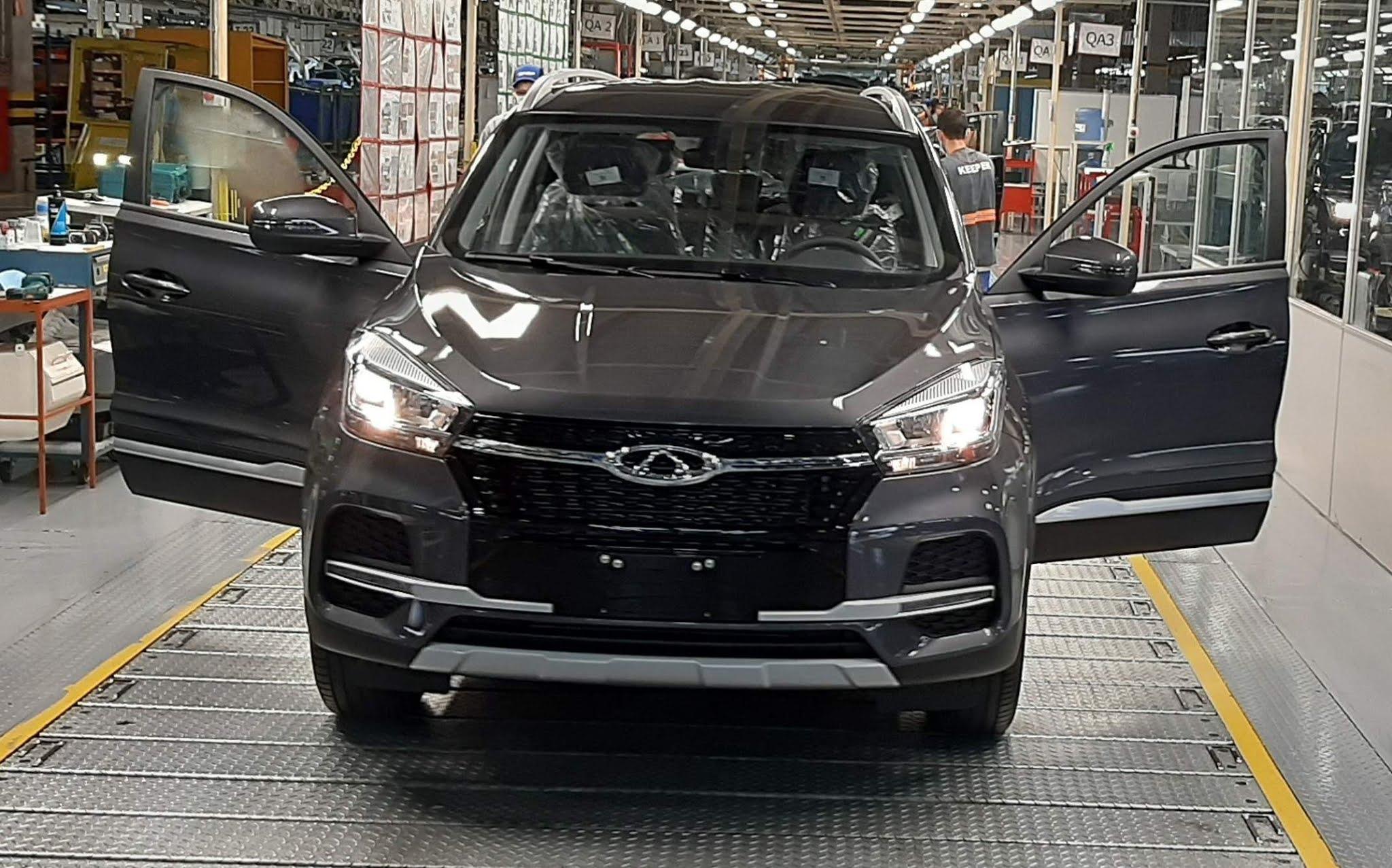 Caoa Chery atinge marca de 50.000 carros produzidos no Brasil