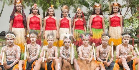 Lirik lagu daerah dari Nusa Tenggara Timur (NTT), Papua, Sulawesi Selatan, Sulawesi Utara