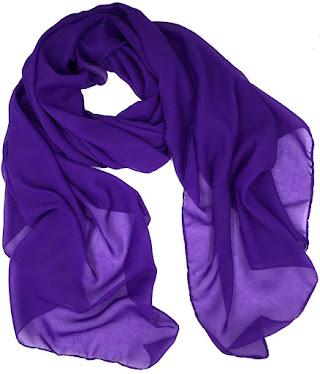 Inexpensive Plain Chiffon Scarves Shawls Wraps