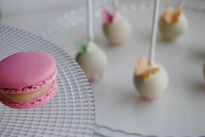 sweet table per una Prima Comunione di una bimba