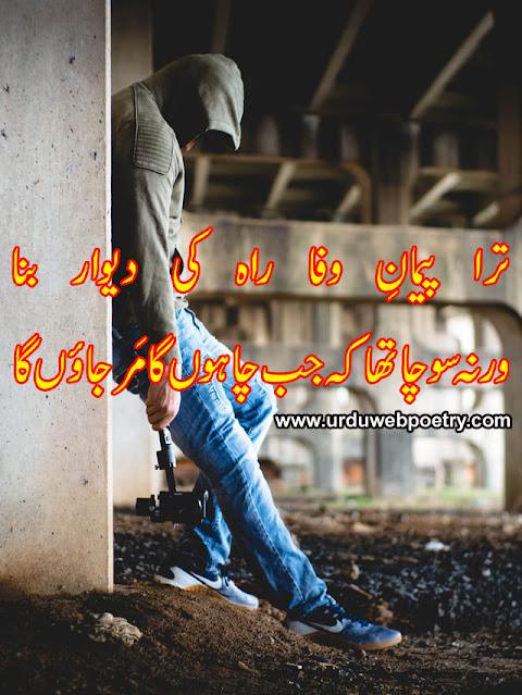 Ahmad Nadeem Qasmi Sad Poetry In Urdu