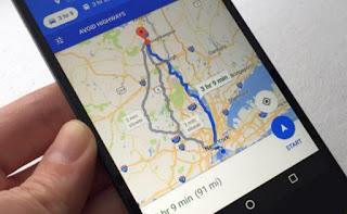 google maps nei viaggi