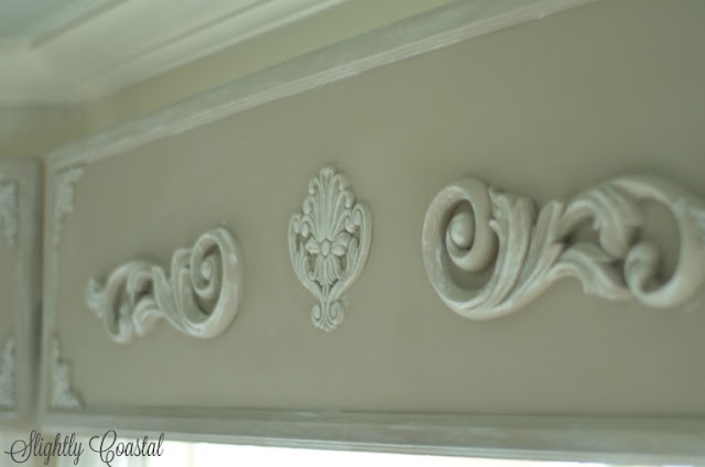 french country wooden valance
